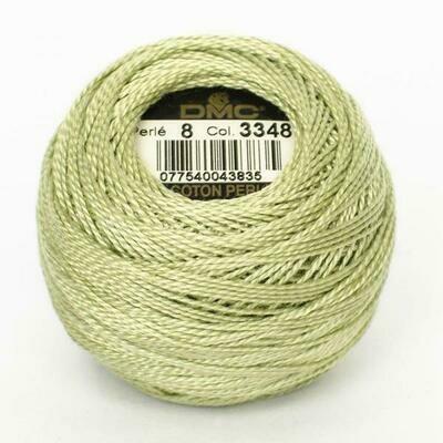 DMC116 Perle 05 Ball 3348 - Light Yellow Green