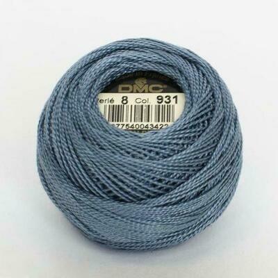 DMC116 Perle 12 Ball 0931 - Medium Antique Blue