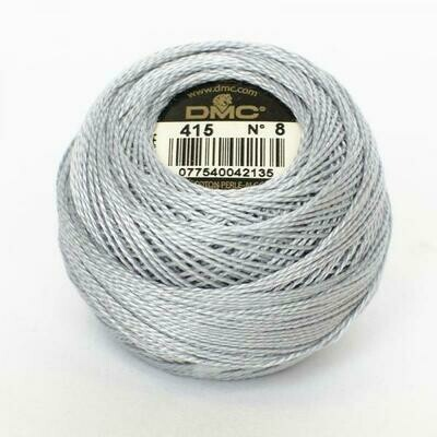 DMC116 Perle 12 Ball 0415 - Pearl Grey