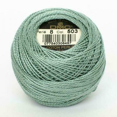 DMC116 Perle 12 Ball 0503 - Medium Blue Green