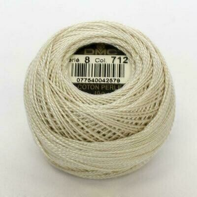 DMC116 Perle 12 Ball 0712 - Cream