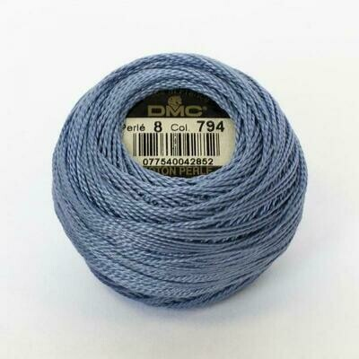 DMC116 Perle 12 Ball 0794 - Light Cornflower Blue