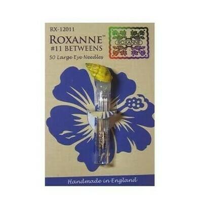 Roxanne Betweens/Quilt Needles #11 50pkt (RX-12011)