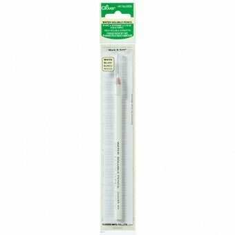 Clover Water Soluble Pencil - White (5000)