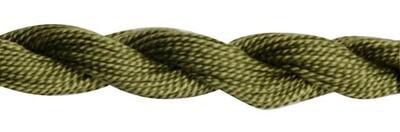 DMC115 Perle 03 Skein 3011 - Dark Khaki Green