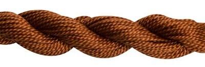 DMC115 Perle 03 Skein 0975 - Dark Golden Brown