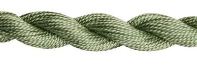 DMC115 Perle 03 Skein 3052 - Medium Green Grey