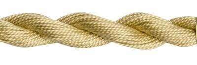DMC115 Perle 03 Skein 3046 - Medium Yellow Beige