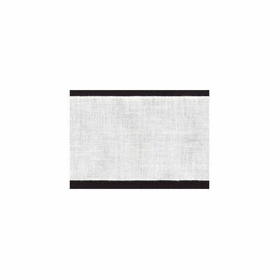Linen Band 80mm White (72022.08.1) /10cm increments