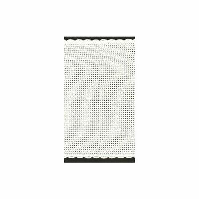 Aida Band 100mm White / White Trim (7195.1) /10cm increments