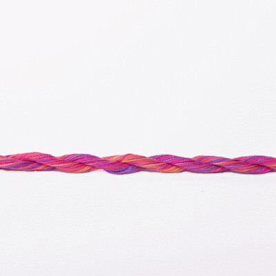 Colour Streams Exotic Lights 100% Silk Thread #028 - Carnivale