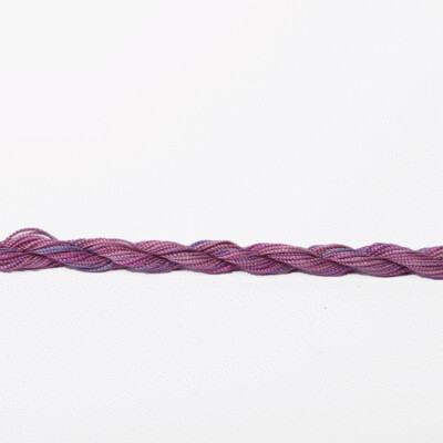 Colour Streams Exotic Lights 100% Silk Thread #024 - Plum