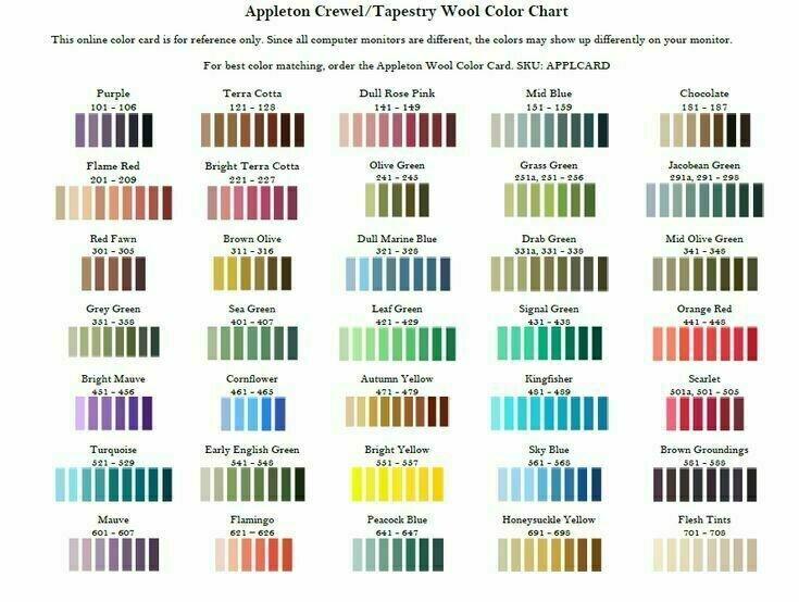 Appleton Crewel Wool #962