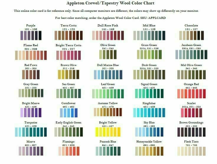 Appleton Crewel Wool #966
