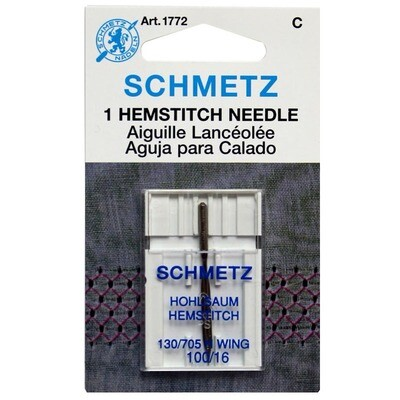 Schmetz HemStitch Twin - 2.5/100