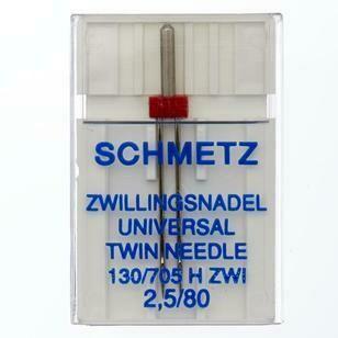 Schmetz Universal Twin - 2.5/080