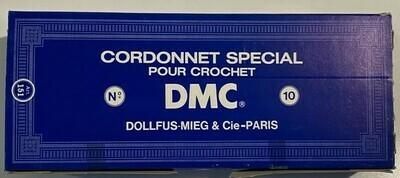 DMC Cordonnet #010 Cotton Blanc - White (Box of 10)