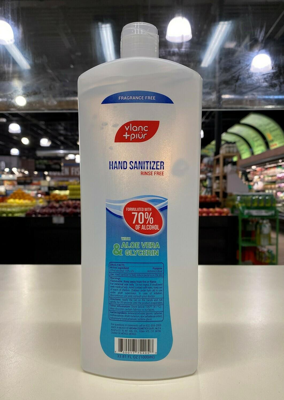 Hand Sanitizer Gel 1L Bottle