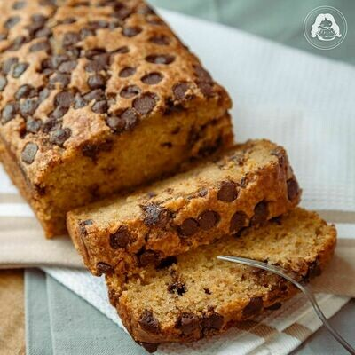 Spiced Pumpkin Choco Chip Loaf