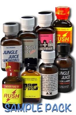8 Bottle Sample Pack