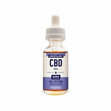 Full-Spectrum Tincture - 167 mg/serving - 5000 mg per bottle. Free Shipping!