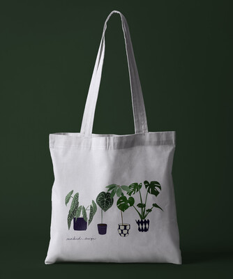 Plant Lady's Collection Tote Bag