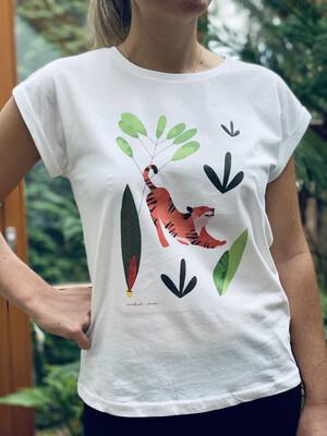 Sleepy Tiger - T-shirt