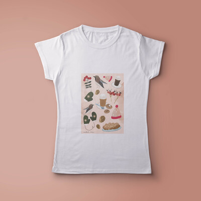 Sweet Pink Winter Time T-shirt