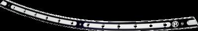 Performance Machine Contrast Cut Windshield Trim (0209-2015HST-BM, 2350-0203)