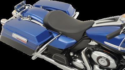 Drag Specialties Low Profile Solo Seat Smooth 08-12 FL (0801-0594)