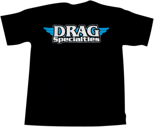 Drag Specialties Logo T-Shirt Black Large (3030-3333)