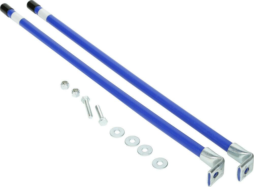 KFI Snow Plow End Markers ATV/UTV Blue (105640, 10-5640)