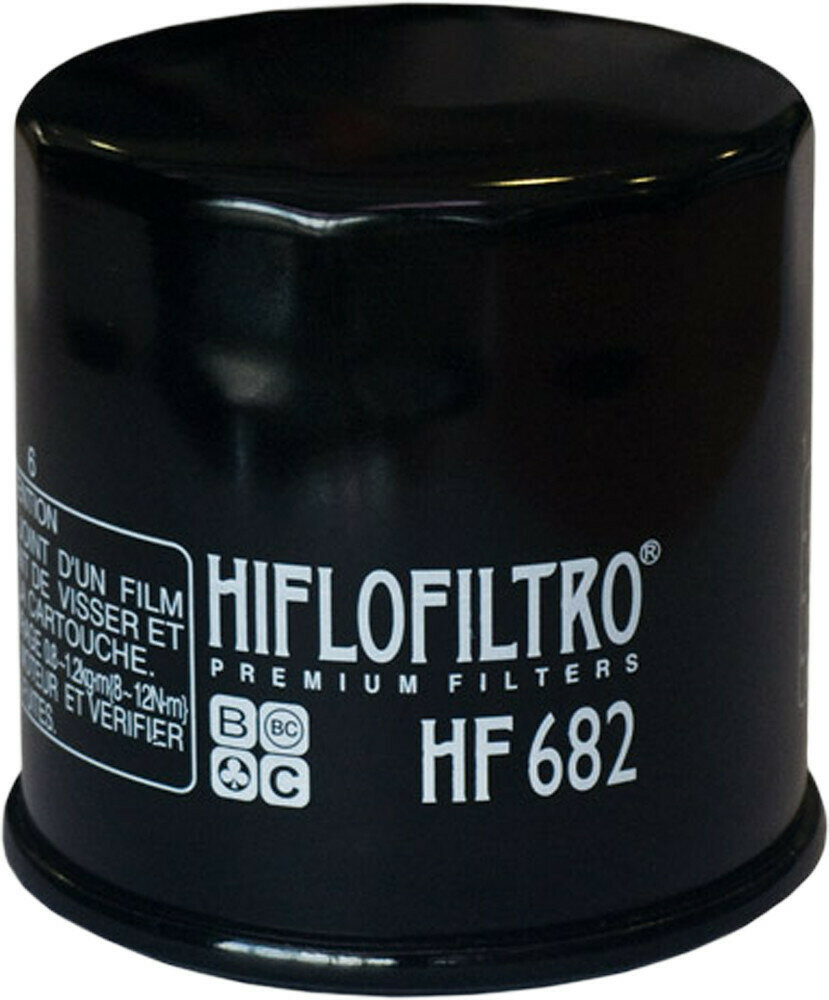 Hiflofiltro Oil Filter (HF682, 550-0682)