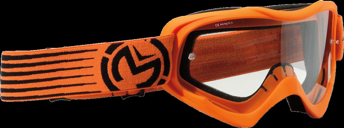 Moose Goggle Qualifier Slash Orange/Black (2601-2121)