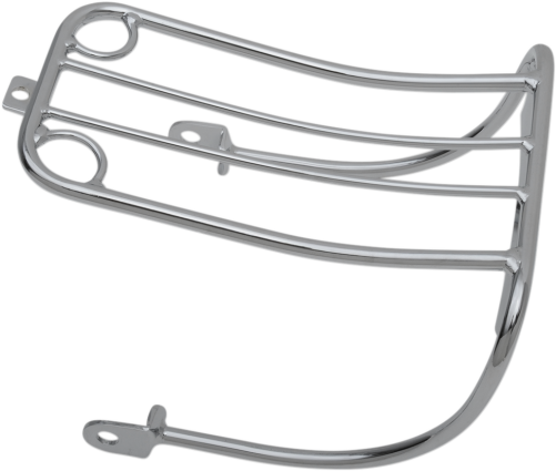 Drag Specialties Chrome Bobtail Fender Luggage Rack, 93-01 FXDWG (DS-720011)
