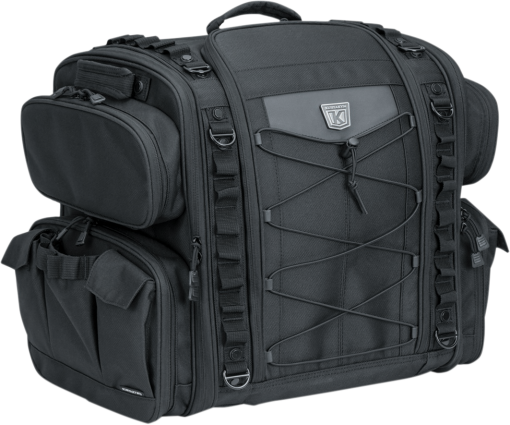 Kuryakyn Momentum Road Warrior Luggage Bag (5284, 3505-0216)