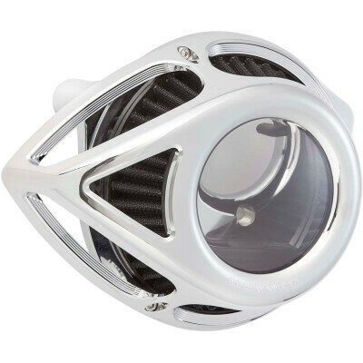 Arlen Ness Air Cleaner Clear Tear Chrome, 08-16 FLT (18-976, 1010-2554)