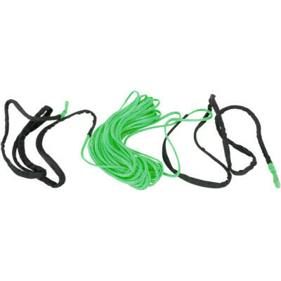 """Moose Synthetic Winch Rope 1/4"""" x 50' Green (4505-0619)"""