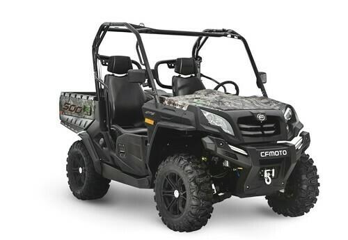 2020 CFMOTO UFORCE 500 EPS UTV 4x4 Camo