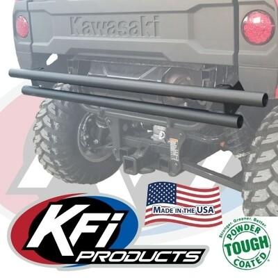 KFI Rear Bumper Kawasaki Mule 700 Pro-MX, Black (101710, 10-1710)