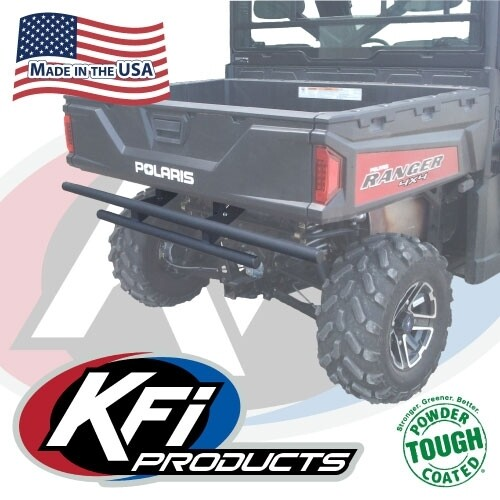 KFI Rear Bumper Polaris Ranger 570, Black (101360, 10-1360)