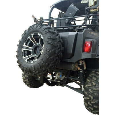 "Moose 2"" Receiver Hitch Spare Tire Carrier Mount, ATV/UTV (1512-0222)"