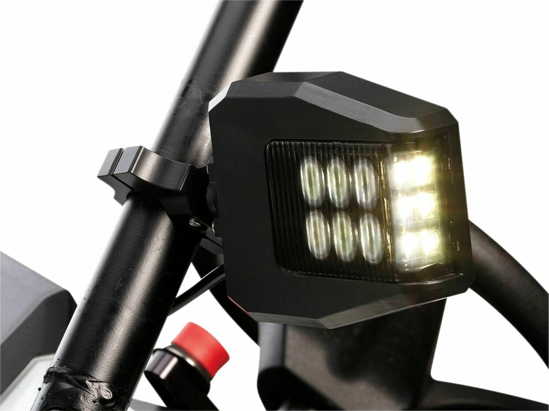 "Moose UTV LED Lighted Sideview Mirrors, 1.75""-2.0"" Mount (0640-1381)"