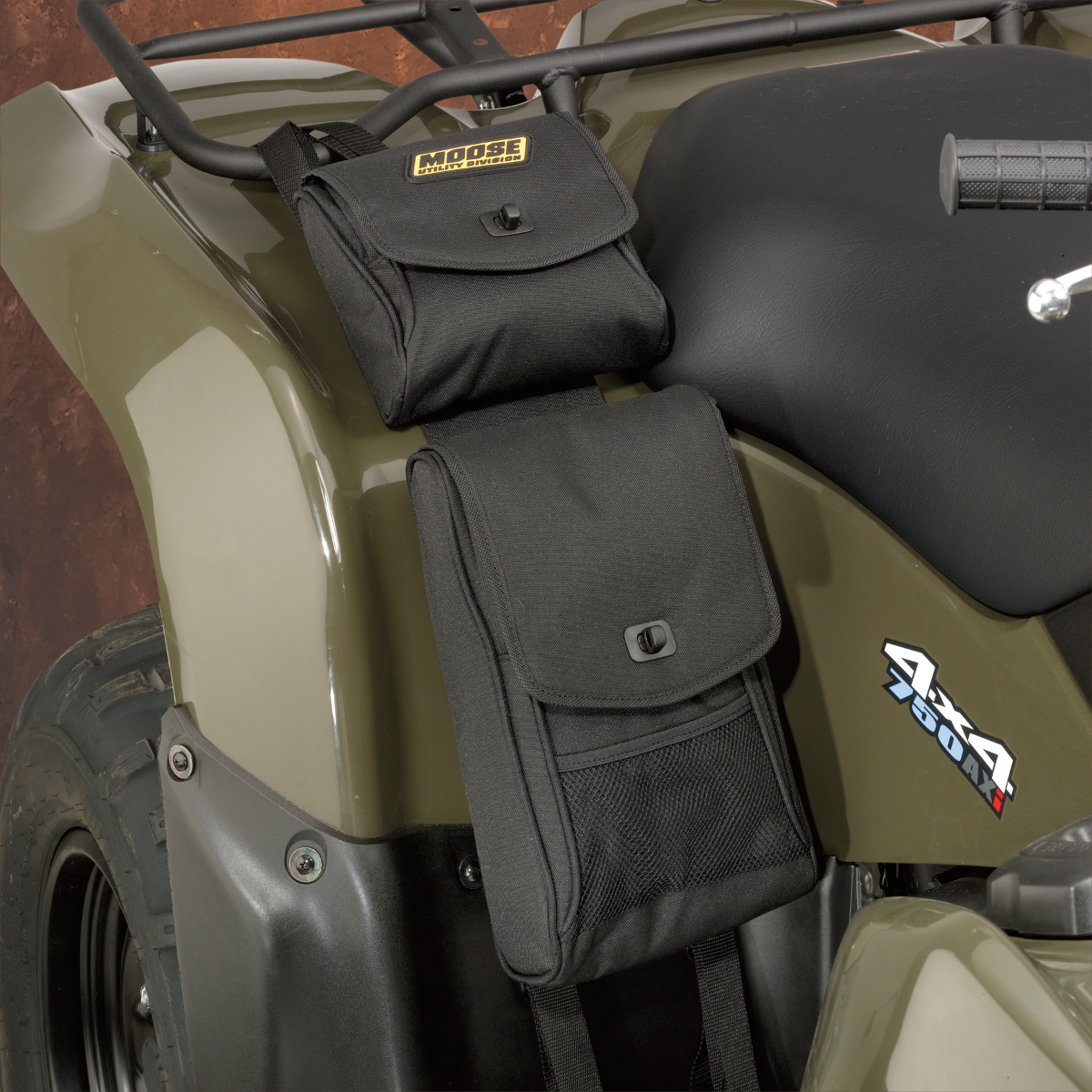 Moose ATV Fender Storage Cargo Bag Black (3509-0024)