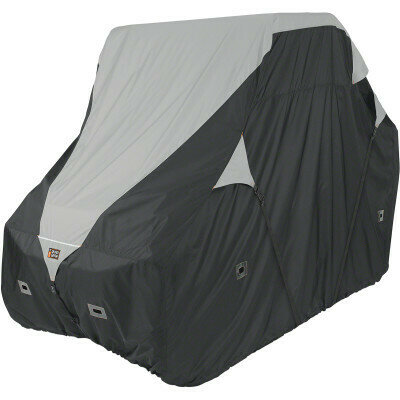 Classic QuadGear UTV 2XLarge Storage Travel Cover, Black/Grey (18-066-063801-0, 4002-0088)