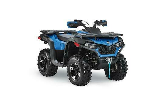 2020 CFMOTO CFORCE 600 EPS ATV 4x4 Blue