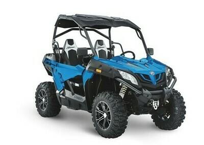 2020 CFMOTO ZFORCE 800 Trail EPS SSV 4x4 Blue