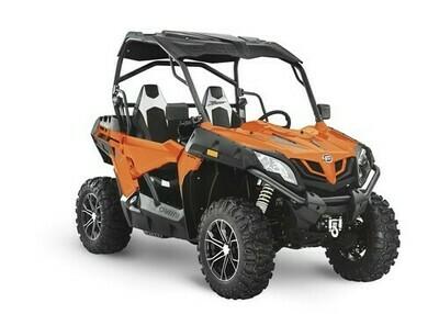2020 CFMOTO ZFORCE 800 Trail EPS SSV 4x4 Orange