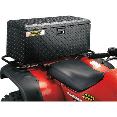 Moose ATV Aluminum Rear Storage Trunk Box (3505-0048)