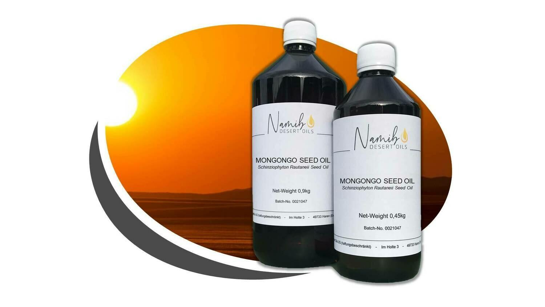 Mongongo Öl - in 0,5 Liter Flasche